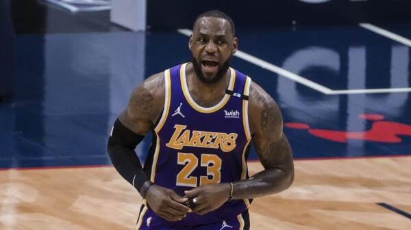 Nba, Los Angeles Lakers ai playoff