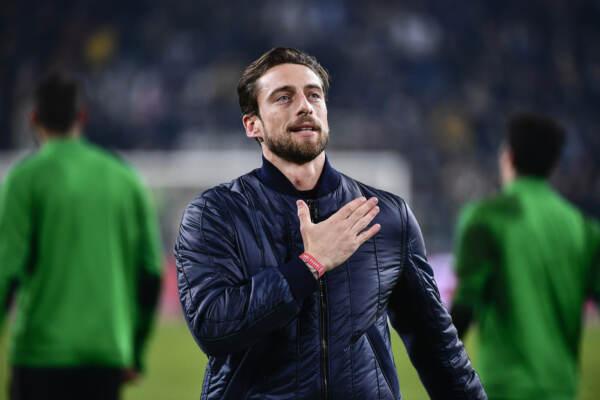 Claudio Marchisio al match Juventus Fc vs Roma nel 2018