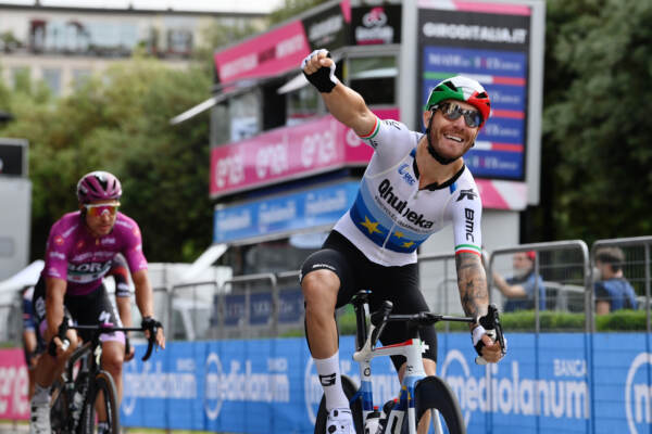 Giro d'Italia 2021 - vittoria di Nizzolo a Verona