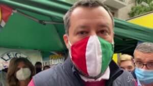 """Copasir, Salvini: """"Urso presidente? Non faccio nomi e cognomi, si dimettano tutti"""""""