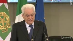 """Strage Capaci, Mattarella: """"Divisioni e lotte minano credibilità della magistratura"""""""