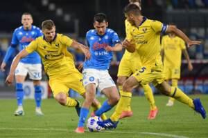 Napoli vs Hellas Verona - Serie A TIM 2020/2021
