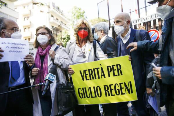 Roma, processo Giulio Regeni