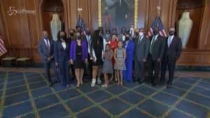 Usa: La famiglia di George Floyd a Capitol Hill
