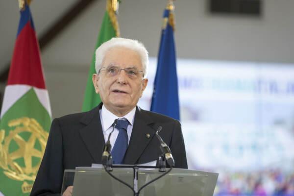 """Covid, Mattarella a Cremona: """"Fiducia in una ripartenza veloce ed efficace"""""""