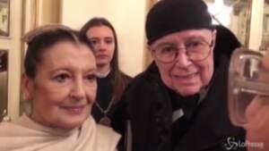 """Addio a Carla Fracci, nel 2018 diceva: """"Amiamo molto Mattarella"""""""