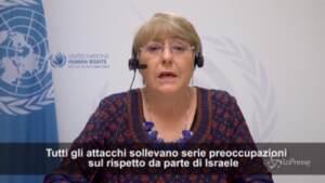 Medioriente, Onu: Raid di Israele a Gaza possibili crimini di guerra