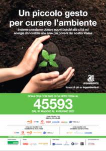 'Un piccolo gesto per curare l'ambiente'