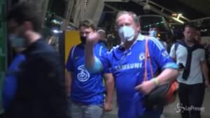Champions, Porto: la gioia dei tifosi del Chelsea e la delusione dei fan del City