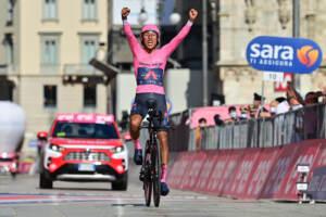Giro d'italia, Milano incorona Egan Bernal. A Ganna la crono finale