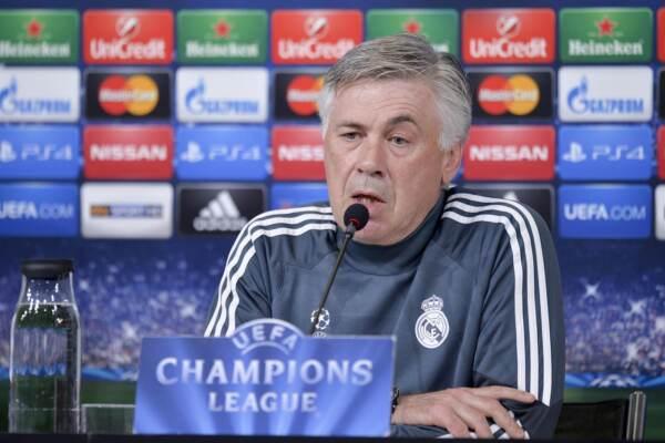 Ancelotti nuovo allenatore del Real Madrid