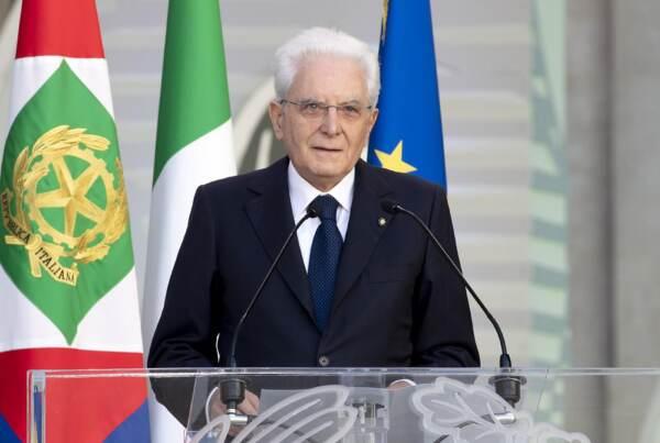 2 Giugno, Mattarella: Repubblica è libertà,democrazia, legalità e solidarietà