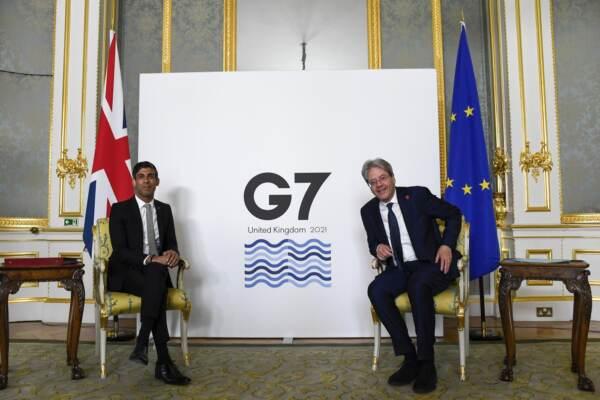 Londra, incontro dei ministri delle finanze di tutte le nazioni del G7 a Lancaster House
