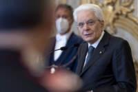 Presidente Mattarella con Comandante generale dell'Arma dei Carabinieri, per il 207° anniversario dell'Arma