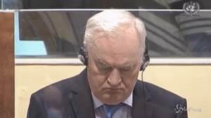 Ex Jugoslavia, confermato l'ergastolo per Mladic