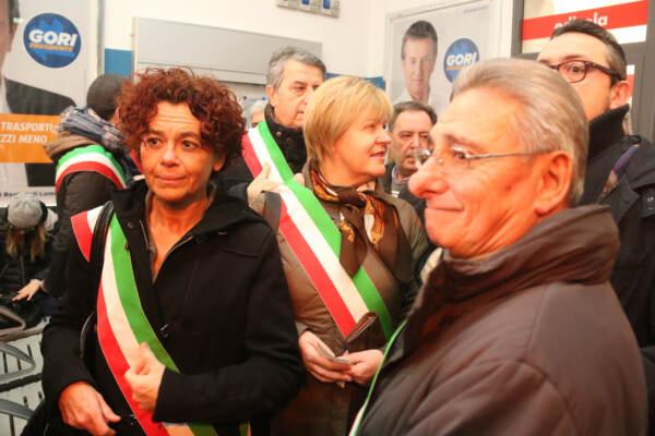 Sindaci del Cremonese in viaggio sul Treno Cremona-Milano