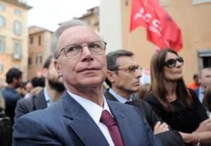Manifestazione contro la riforma della scuola al Pantheon