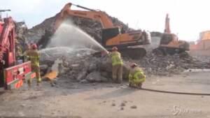 Sud Corea, edificio in demolizione crolla su bus: almeno 4 morti