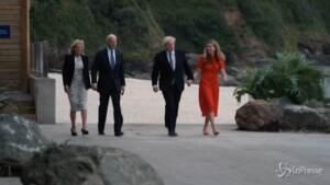 G7, Boris Johnson accoglie Joe Biden in Cornovaglia