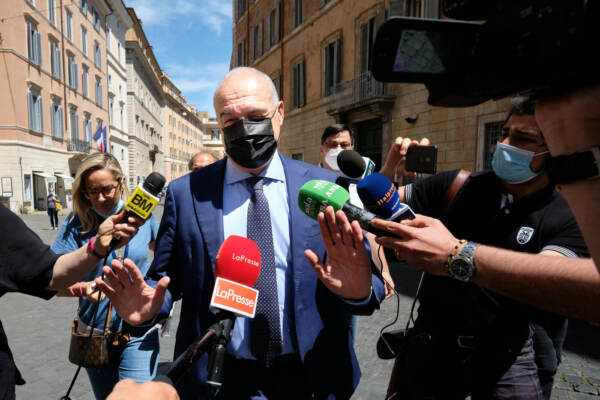 Candidature amministrative, incontro Lega - Enrico Michetti candidato sindaco di Roma