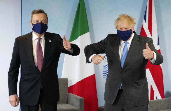 """G7, Draghi: """"Si cresce con politiche espansive, stavolta nessuno resti indietro"""""""