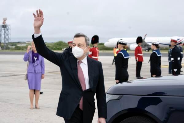 G7, per Draghi bilaterali con Johnson e Macron