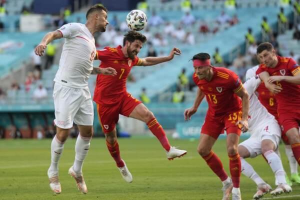 Euro 2020 - Galles vs Svizzera