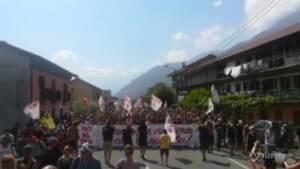 No Tav: migliaia in marcia in Val Susa