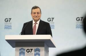 Ultimo giorno del vertice G7 - La conferenza stampa di Mario Draghi