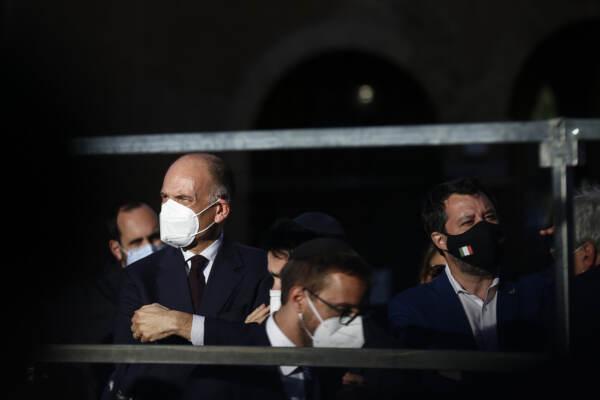Roma, veglia per Israele e la pace in Medioriente a Portico D'Ottavia