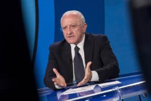Vincenzo De Luca ospite a