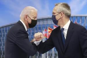 Bruxelles, il primo incontro NATO con la partecipazione del presidente Biden