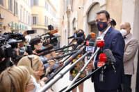 Vertice Centro Destra - Canditdature elezioni amministrative: Matteo Salvini