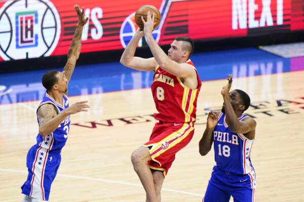 Nba: gli Hawks di Gallinari sbancano Philadelphia