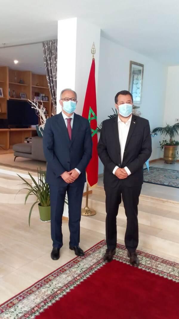 """Marocco, Salvini: """"Il Paese più stabile dell'intera regione del Sud Mediterraneo e del Nord Africa"""""""