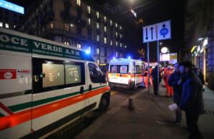 Soccorsi ai feriti in Metropolitana fermata cadorna a seguito di una brusca frenata del convoglio