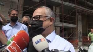 """Primarie Roma, Gualtieri: """"Bellissima giornata, stanno votando in tanti"""""""