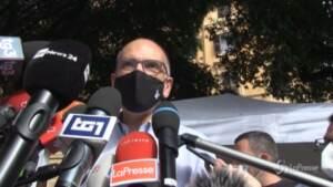 """Primarie Pd, Letta: """"Oggi non è giorno per le polemiche ma una grande festa della democrazia"""""""