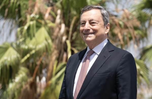 Barcellona, presidente Draghi al Cercle d'Economia per ricevere il Premio per la costruzione europea