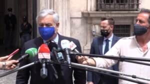 """Tajani: """"Con Draghi incontro positivo, sintonia su tutto"""""""