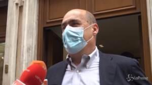 """Primarie, Zingaretti: """"Il Pd e il suo sistema di alleanze unica alternativa al Centrodestra"""""""