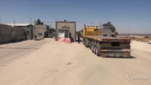 Gaza, Israele allenta le restrizioni al confine