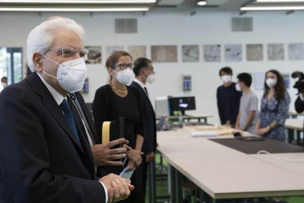 Il Presidente Mattarella all'inaugurazione del nuovo Campus di Architettura del Politecnico di Milano