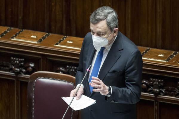 Camera dei Deputati - Comunicazioni di Mario Draghi sul prossimo Consiglio europeo