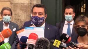 """Giustizia, Salvini: """"Minaccia Anm è impropria per un Paese libero"""""""