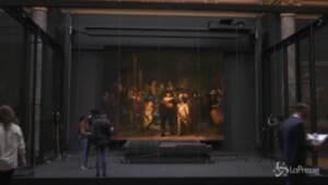 Arte: un Rembrandt ingrandito grazie all'intelligenza artificiale