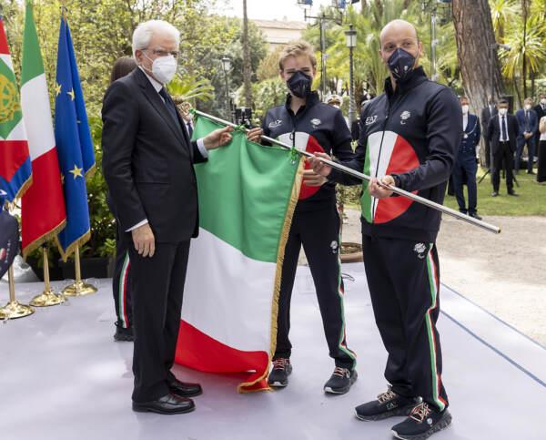 """Olimpiadi, Mattarella riceve la delegazione italiana: """"Portano un carico di speranza"""""""