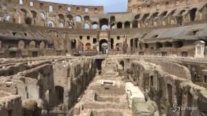 Colosseo, presentato il restauro degli Ipogei