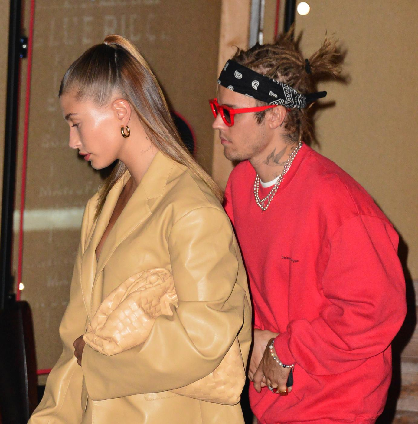 Hailey Baldwin e Justin Bieber da Craig's a Los Angeles