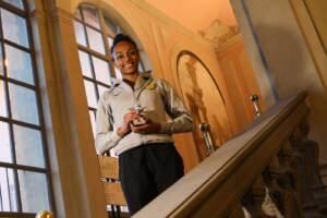 Larissa Iapichino riceve il oremio Pegaso d'argento a Firenze